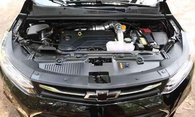 Motor 1.4 turbo tem bom torque mesmo com baixas rotações(foto: Jair Amaral/EM/DA Press)