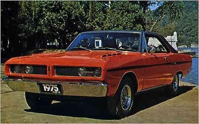 Lançado em 1974, o Dart Gran Sedan tinha acabamento mais sóbrio(foto: Editora Abril/Divulgação)