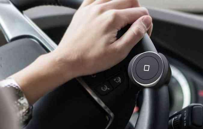 Acessório Satechi Bluetooth Home button pode ser opção para carros básicos(foto: Satechi/Divulgação)