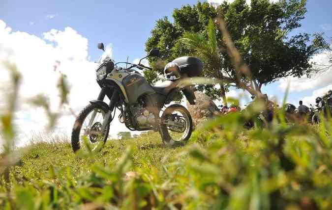 Pneus de motos de alta cilindrada sofrem mais desgastes e precisam de cuidados (foto: Paulo Paiva / DP )