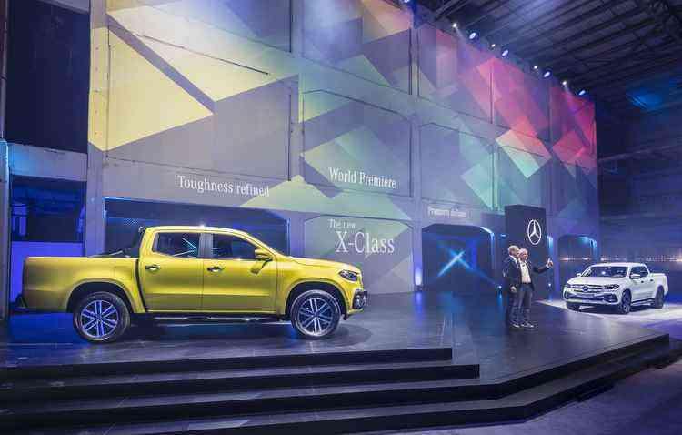São duas opções na caixa de transmissão , câmbio manual de 6 velocidades ou automático de 7 - Mercedes-Benz / Divulgação