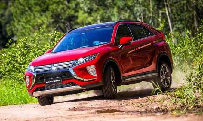 Mitsubishi Eclipse agora é SUV e ganha sobrenome Cross(foto: Mitsubishi/Divulgação)