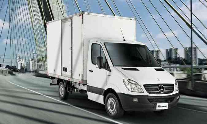 Na Europa, a Sprinter chassis e a Sprinter plataforma são produzidas em Ludwigsfelde(foto: Mercedes-Benz/Divulgação)