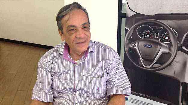 Cliente da Pisa Ford, o médico José Carlos Rogedo pretende comprar EcoSport ou Focus hatch - Marcus Celestino/EM/D.A PRESS