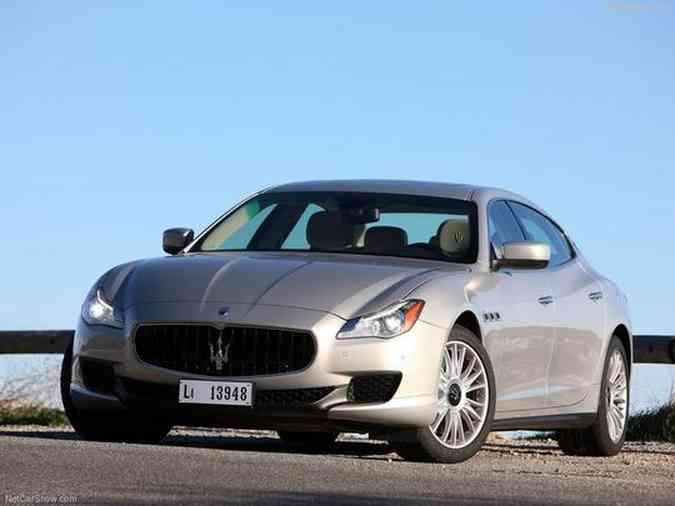 Maserati QuattroporteMaserati/Divulgação