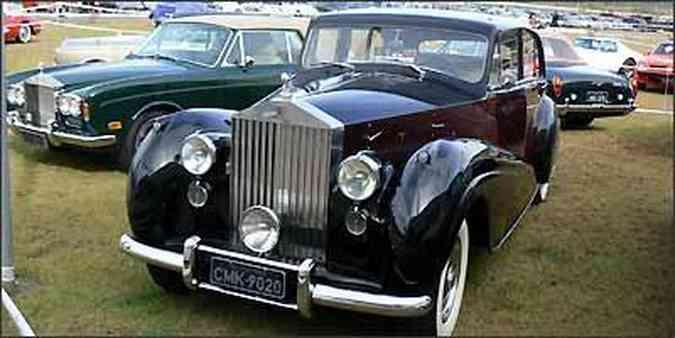 Rolls-Royce Silver Wraith 1954(foto: Fotos: Boris Feldman/Esp. EM/D.A Press)