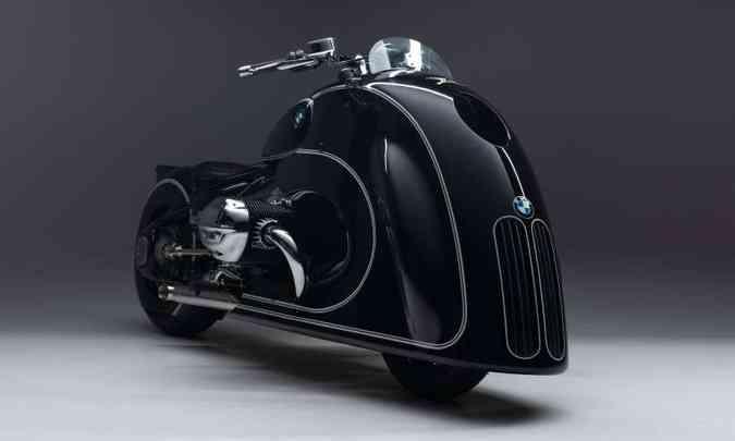 A grade frontal, apelidada de duplo rim, foi mantida como identidade da marca(foto: BMW/Divulgação)