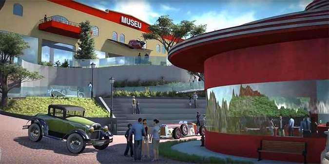 Projeção mostra como será parte das instalações do complexo Mova(foto: Divulgação)