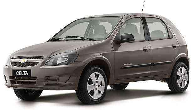 Celta é o modelo com mais unidades envolvidas: 29.736 -  Chevrolet/Divulgacao
