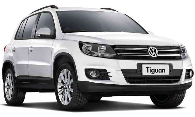SUV Tiguan ganha versão de entrada com motor 1.4 TSI mais barata em R$ 24 mil(foto: Volkswagen/Divulgação)