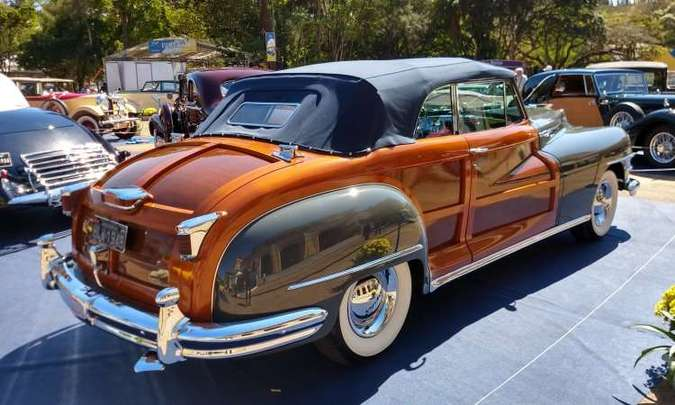 Chrysler Town and Country 1947(foto: Pedro Cerqueira/EM/D.A Press)
