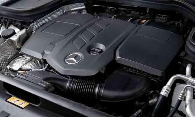 Uma das novidades é o motor 2.0 Turbodiesel de 194cv e 40,8kgfm de torque(foto: Estúdio Malagrine/Mercedes-Benz/Divulgação)