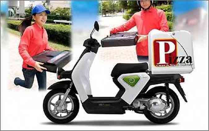 O EV-neo será utilizado para pequenas entregas rápidas, como pizza, jornais e compras