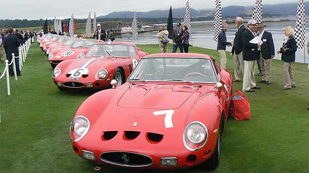 22 Ferraris 250 GTO - Boris Feldman/EM/D.A Press