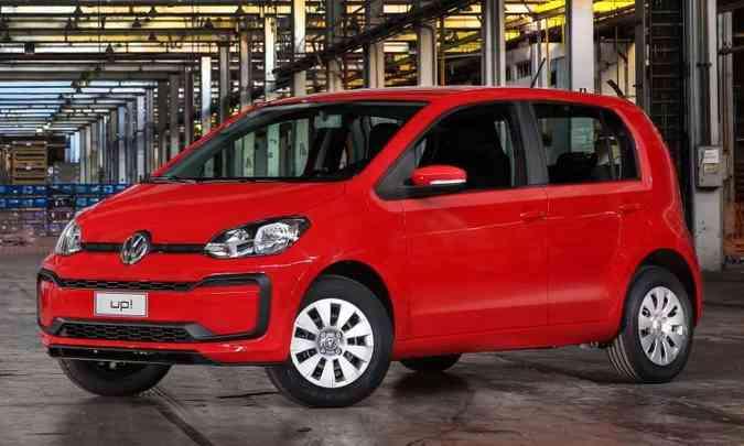 A versão de entrada, a MPI, vem equipada com motor 1.0 aspirado de 82cv com etanol(foto: Pedro Danthas/Volkswagen/Divulgação)