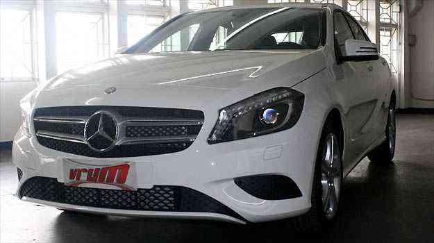 Mercedes Classe A deprecia 15,9% em um ano - Marcello Oliveira/EM/D.A PRESS
