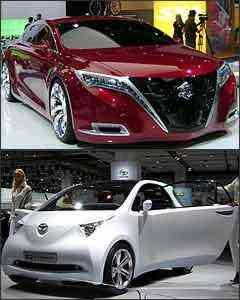 Suzuki Kizashi e Toyota IQ -