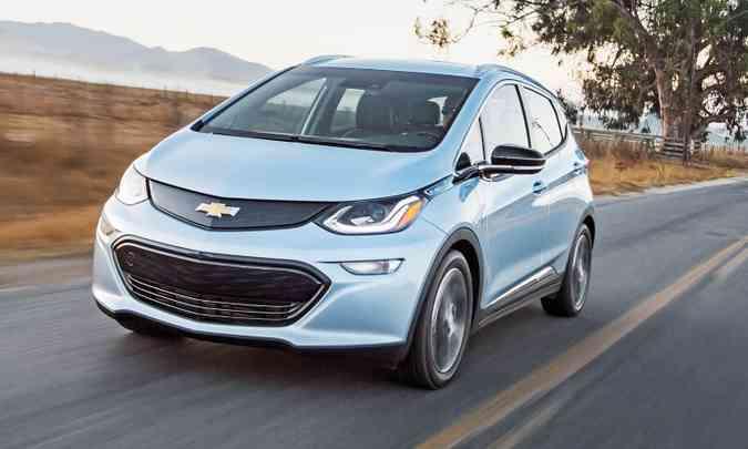 CHEVROLET BOLT EV - R$ 175 mil(foto: Chevrolet/Divulgação)