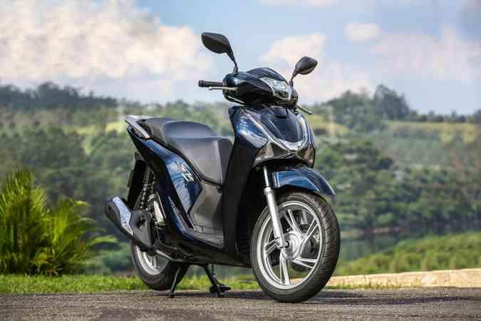 Scooter é um dos modelos que se destacou na lista dos mais fabricados (foto: Honda / Divulgação )