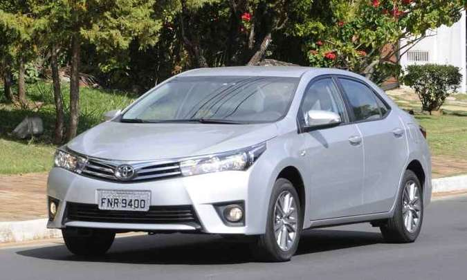 Toyota Corolla(foto: Jair Amaral/EM/D.A Press - 20/5/14)