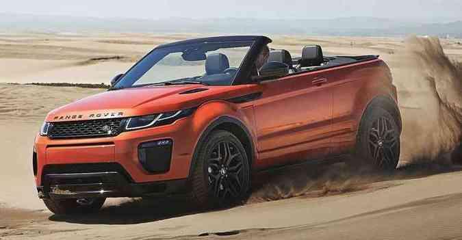Nos EUA, carro vai de 0 a 100 km/h em 7,8 segundos (foto: Land Rover/divulgação )