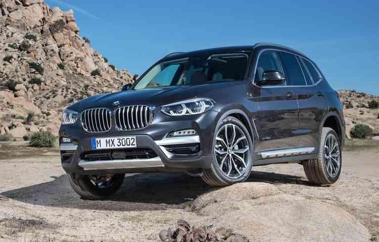 Terceira geração do X3 aparecerá com a tecnologia como diferencial. Foto: BMW / Divulgação -