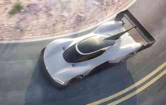 Modelo foi desenvolvido para disputar a Corrida para as Nuvens nos Estados Unidos. Foto: Volkswagen / Divulgação