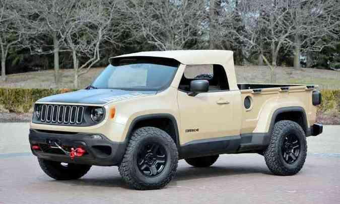 Jeep Comanche(foto: Jeep/Divulgação)