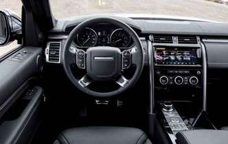 Computador de bordo e central multimídia de 10 polegadas(foto: Land Rover / Divulgação)