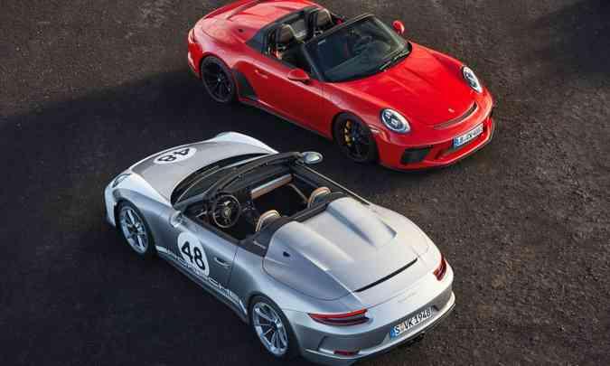 Na Alemanha, o novo Porsche Speedster já pode ser encomendado por 269.274 euros(foto: Porsche/Divulgação)