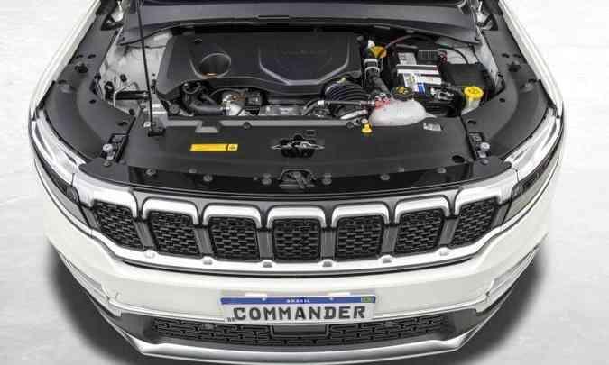 Já o motor 1.3 turbo desenvolve 180cv com gasolina e 185cv com etanol, com torque de 27,5kgfm(foto: Jeep/Divulgação)