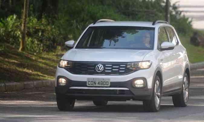 VW T-Cross(foto: Leando Couri/EM/D.A Press)