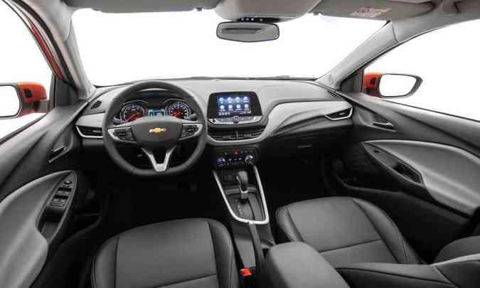 As dimensões aumentaram e o espaço interno melhorou, assim como o acabamento(foto: Chevrolet/Divulgação)