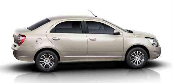Na versão 1.8, o carro traz transmissão automática de seis marchas (opcional)(foto: Chevrolet/divulgação)
