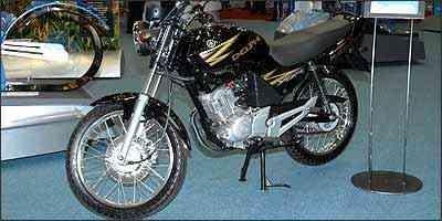Motor flex para as motos funciona com álcool, gasolina ou com a mistura de ambos em qualquer proporção - Delphi/Divulgação
