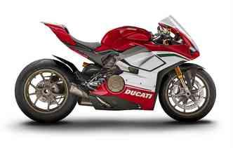Só serão disponibilizadas 3 unidades do modelo para o Brasil. Foto: Ducati / Divulgação