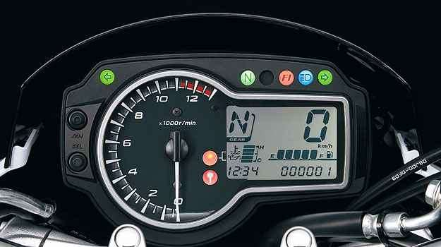 Painel da 750 - Suzuki/Divulgação