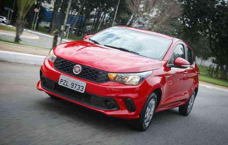 Argo aparece em 11º em vendas no mês de julho - Fiat / Divulgação