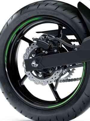 Os freios contam com sistema ABS - Kawasaki/Divulgação