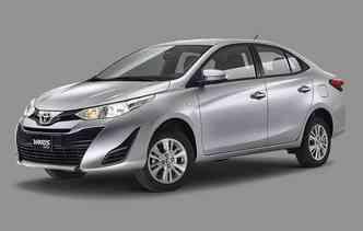 Yaris já é produzido no México sobre uma base derivada do Mazda. Foto: Toyota / Divulgação
