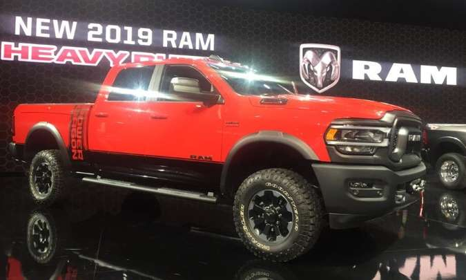 RAM 2.500 Power Wagon(foto: Enio Greco/EM/D.A Press)