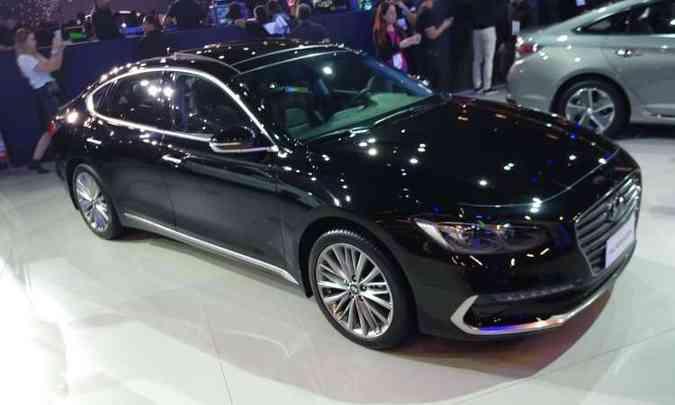 Novo Hyundai Azera(foto: Pedro Cerqueira/EM/D.A Press)