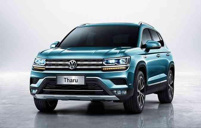 Tharu, modelo comercializado na China.(foto: VW/ Divulgação)