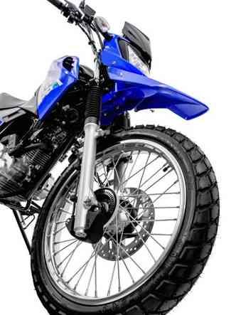Freio dianteiro com disco maior e equipado com ABS(foto: Yamaha/Divulgação)