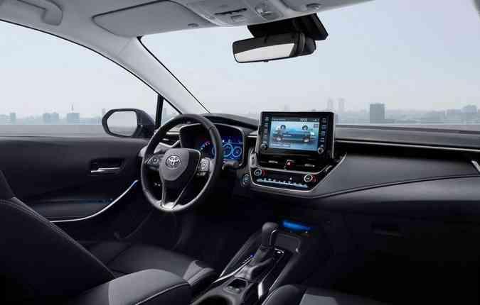 Novo Corolla 2020 já terá o novo Toyota Safety Sense na versão SX. Foto: Toyota / Divulgação