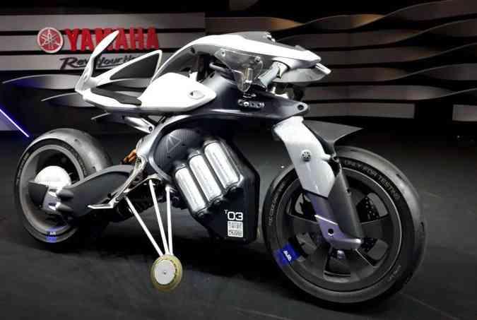 O modelo Yamaha Motoroid tem visual de ficção científica(foto: Yamaha/Divulgação)