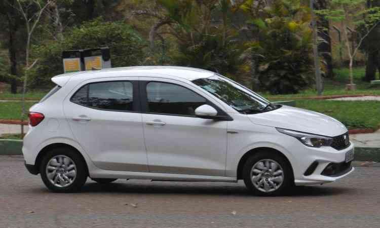 Lançado em junho, Fiat Argo fechou o ano com 27.925 emplacamentos - Jair Amaral/EM/D.A Press