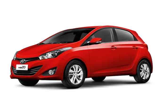 Lançado em 2012 no Brasil, Hyundai HB20 teve a primeira unidade comprada por Digão, morador de Serra (ES)(foto: Hyundai/Divulgação)