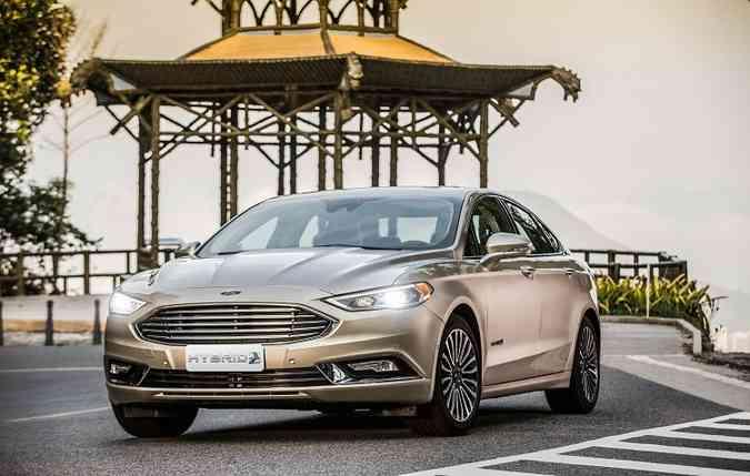 O Fusion Hybrid foi o segundo híbrido a ser comercializado no Brasil(foto: Ford/Divulgacao)