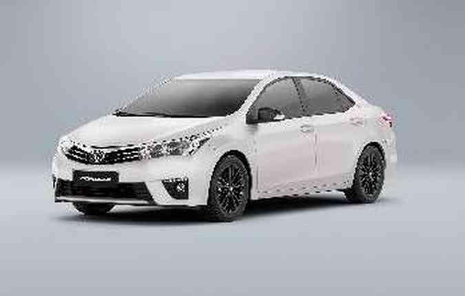 Sedã é baseado na versão XEI(foto: Toyota/Divulgacao)